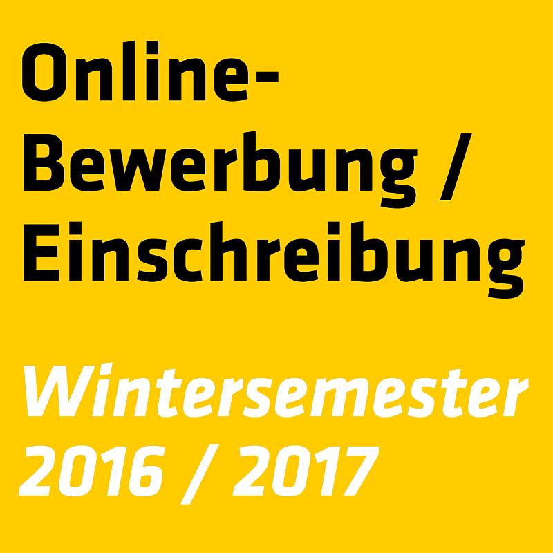einschreibetermine wintersemester 2017